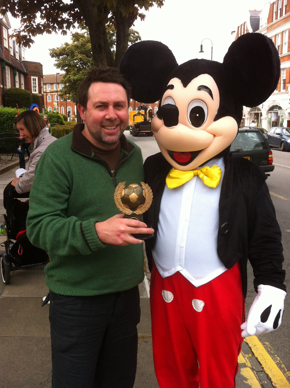 With my pal Mickey