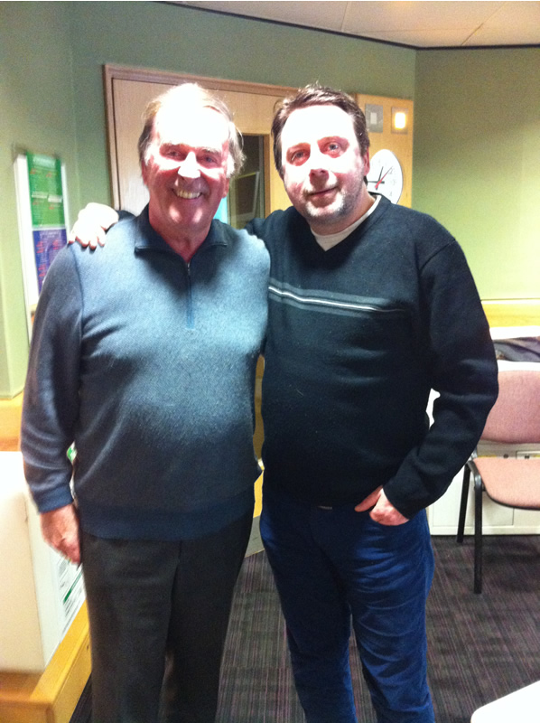With Terry Wogan