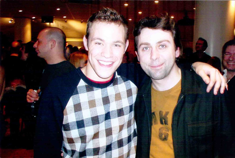 with Will Young