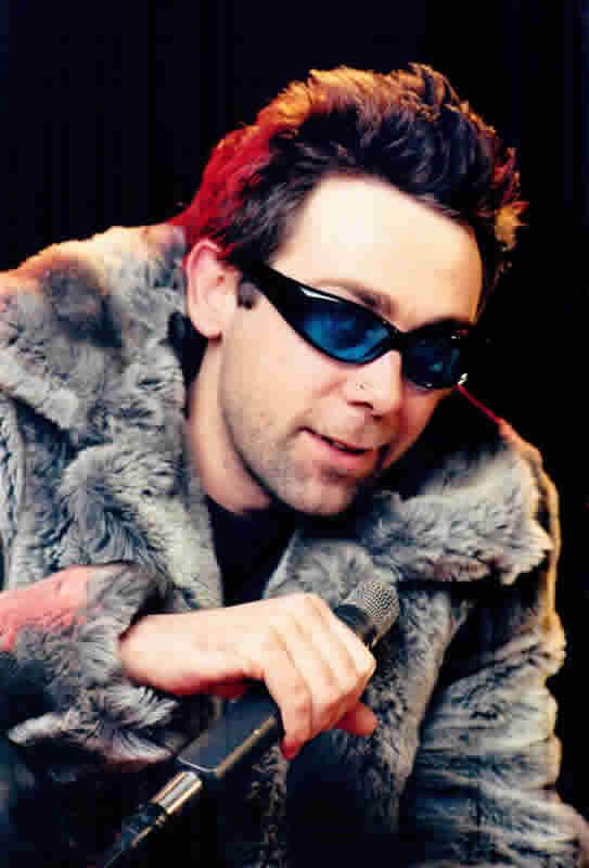 Rock Star in a big coat